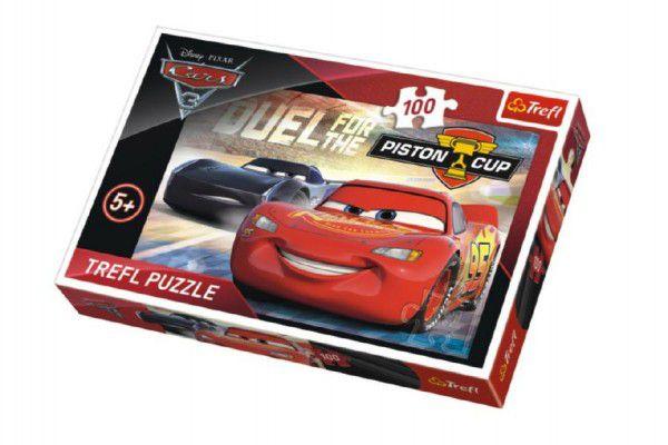 Puzzle Auta/Cars 3 Disney 100 dílků 41x27,5cm v krabici 29x20x4cm