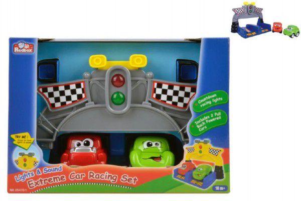 Teddies Závodní sada autíčka 2 ks