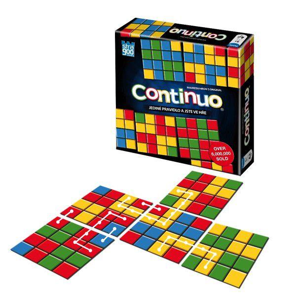 Continuo rodinná společenská hra v krabici 14,5x14,5x3cm