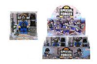 Figurka policie s doplňky plast 9cm