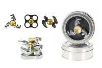 Fidget Spinner kov v plechové krabičce - 3 druhy