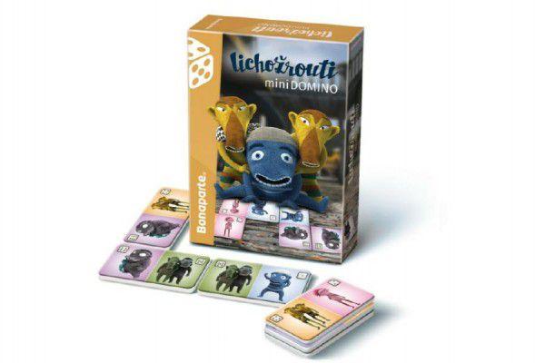 Domino mini Lichožrouti společenská hra v krabičce 10x16x3cm
