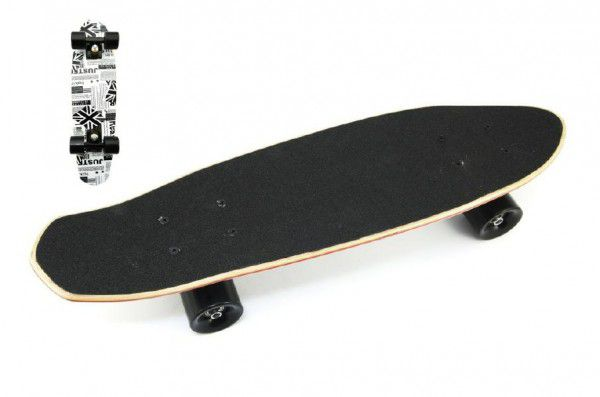 Skatebord - pennyboard dřevo 63cm, nosnost 100kg, vzor China