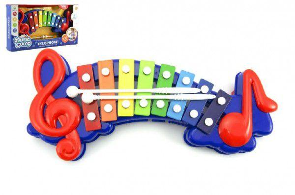 Xylofon 32cm plast v krabici