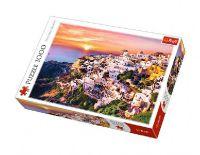 Puzzle Santorini 1000 dílků 68,3x48cm v krabici