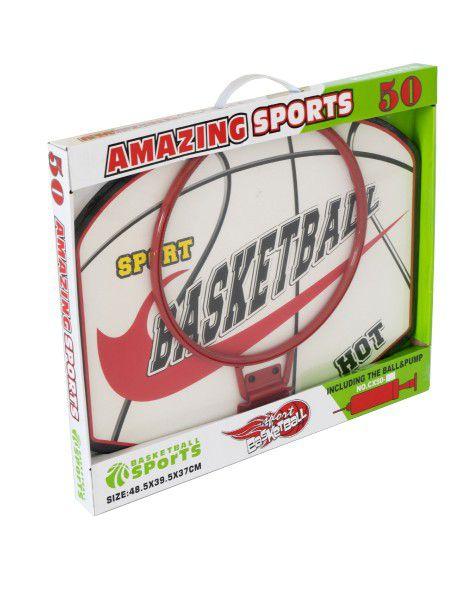 Basketbalový koš + míč s pumpičkou 48,5x39,5x37cm