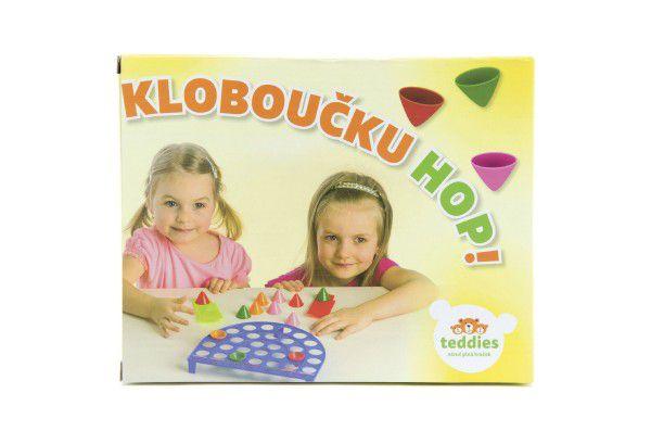 Kloboučku, hop společenská hra v krabici 23x18cm