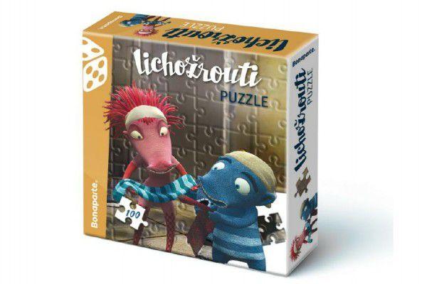 Puzzle Lichožrouti 100 dílků 33x30cm v krabici 20x20cm