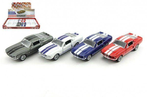 Kinsmart Shelby GT-Auto kov 13cm na zpětné natažení