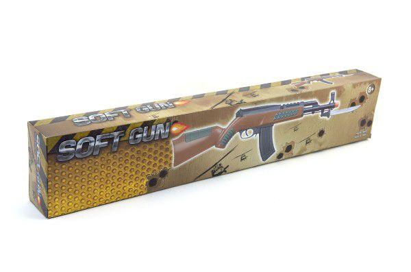 Pistole samopal na kuličky 56cm plast v krabici
