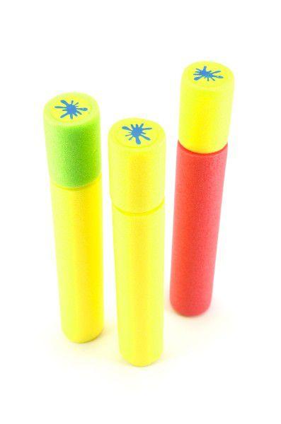 Vodní trubice pěnová 30cm asst 3 barvy v síťce