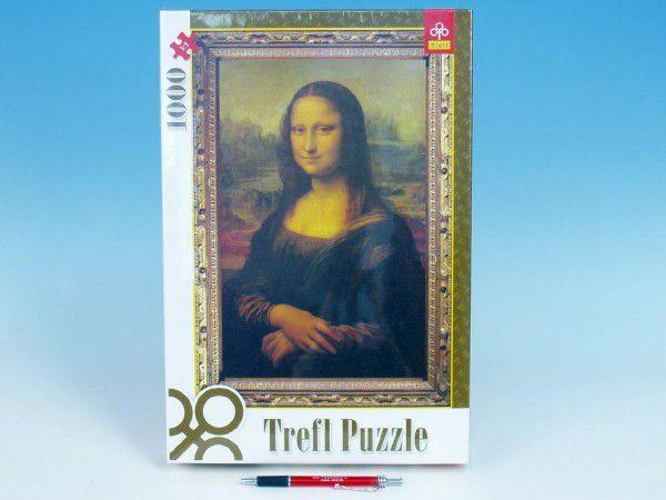 Puzzle Mona Lisa 1000 dílků v krabici