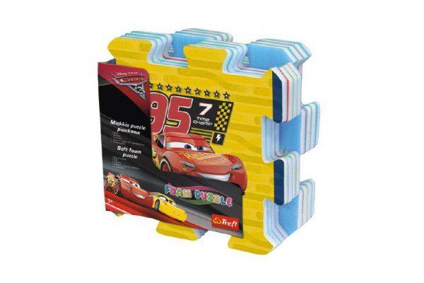 Trefl Pěnové puzzle Cars 3/Auta 32x32x1,5cm 8ks