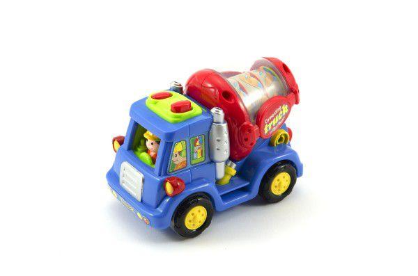 Auto nákladní plast 12cm asst 3 druhy 6ks v boxu 18m+
