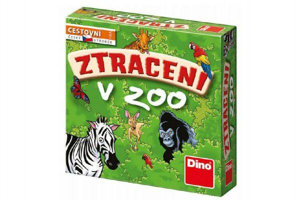 Ztraceni v Zoo společenská cestovní hra v krabici 13x13x4cm
