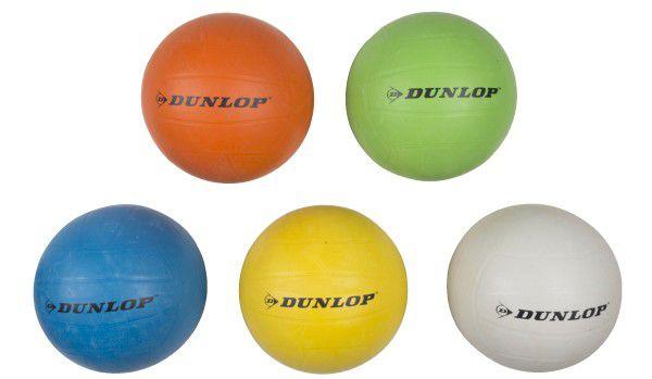 Volejbalový míč DUNLOP vel. 5 asst 5 barev v sáčku