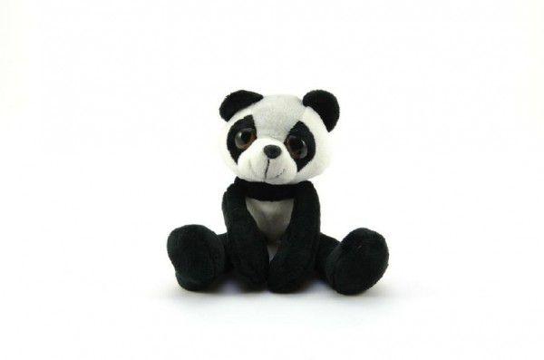 Panda dlouhé končetiny plyš 28cm