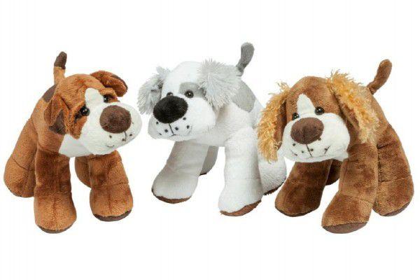 Pes plyš 22cm asst 3 druhy