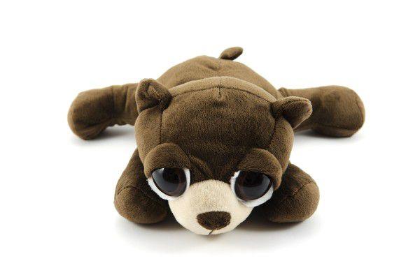 Medvěd Bruce ležící plyš 28cm