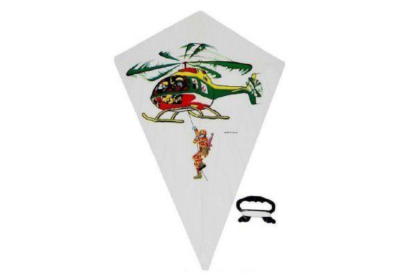 Drak létající 48x71cm asst 4 druhy v sáčku
