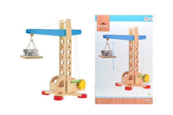 Jeřáb dřevo 40cm v krabici