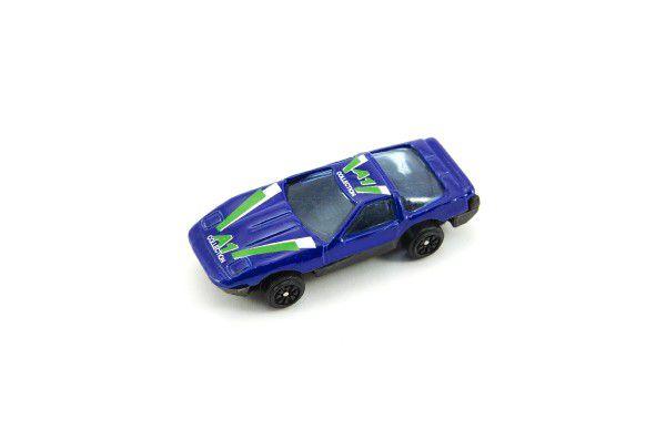 Auto 6cm kov 10ks volný chod v krabičce 18x18cm