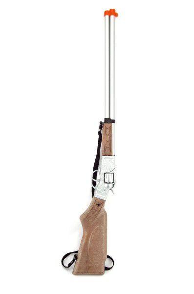Pistole/Puška kapslovka 65cm kov 8 ran na kartě