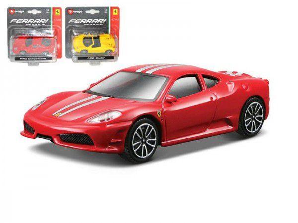 Auto Bburago Ferrari Race 1:43 kov 10cm asst v krabičce
