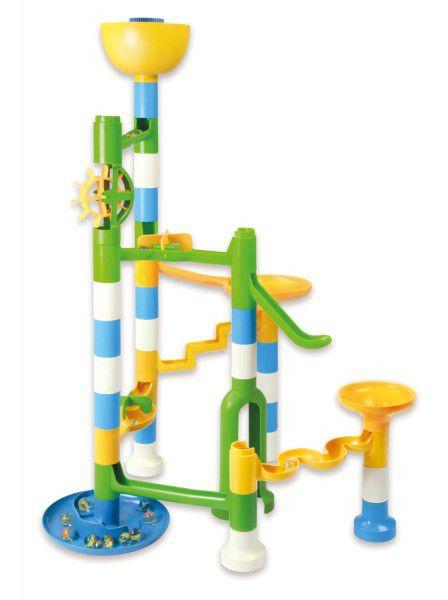 Kuličková dráha XL Twister 39ks + 20 kuliček v krabici 40x30x8cm