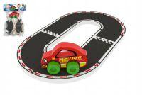 Závodní okruh Racing Buddies + auto pěna 7ks v sáčku