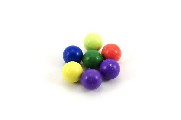 Kuličky cvrnkací nerozbitné 20ks asst 3 barvy v látkovém pytlíčku