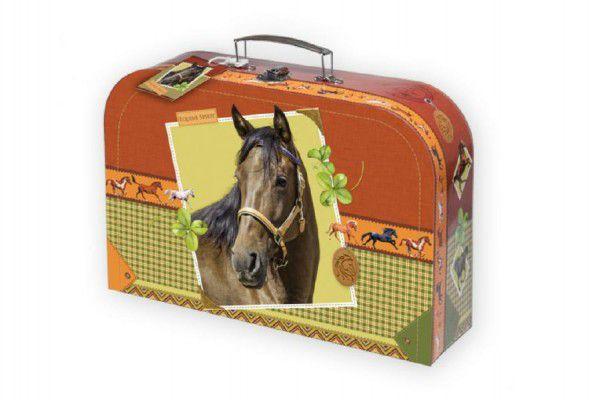 Školní kufřík kůň 30x21x9,5cm