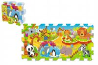 Pěnové puzzle/hra ZOO 8ks 32x32cm