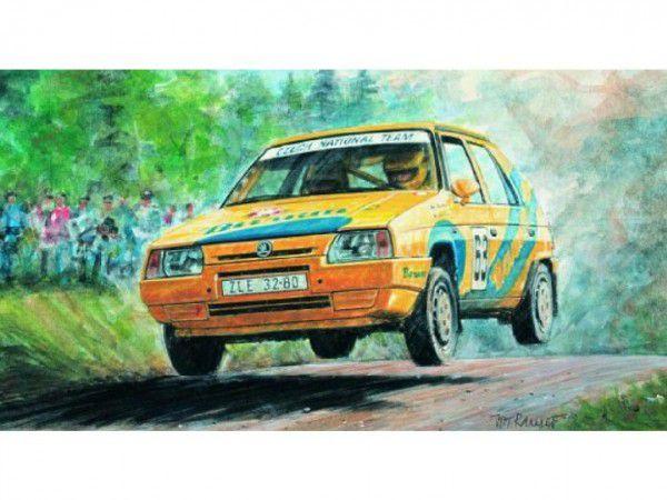 Škoda Směr Model Kliklak Favorit Rallye 96 1:28