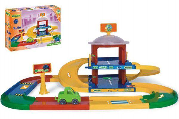Wader Kid cars 3D garáž 2 patra 3,4 m