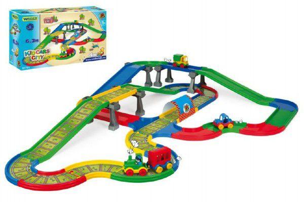 Kid Cars - Městečko 6,3m Wader v krabici 59x35x19cm 12m+