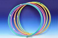 Obruč Hula Hop 70 cm asst 7 barev