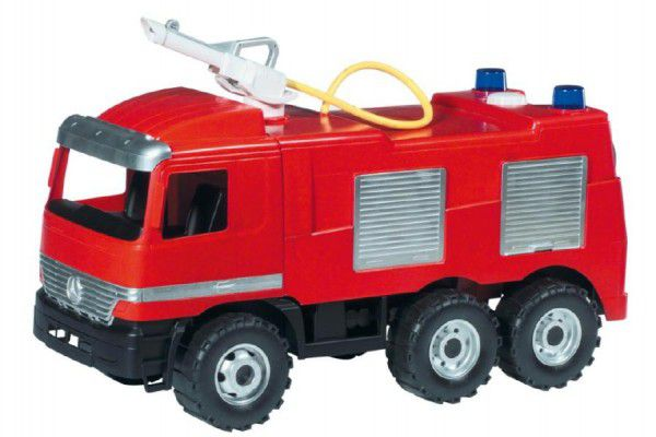 Teddies Mercedes auto hasiči plast 60cm v krabici