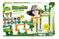 Kuličková dráha Jungle 41ks + 10 kuliček v krabici 40x30x8cm