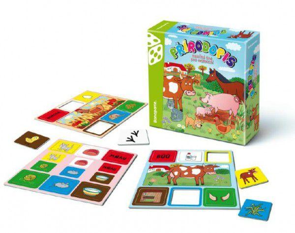 Přírodopis společenská hra pro nejmenší v krabici 20x20x5cm