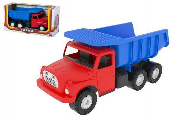Dino Auto Tatra 148 plast 30cm červenomodrá sklápěč v krabici