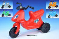 Odrážedlo Scooter 7 plast výška sedadla 32cm asst 5 barev nosnost do 50kg od 3 let