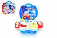 Doktorská sada 20ks plast v plastovém kufříku 24x22x10cm