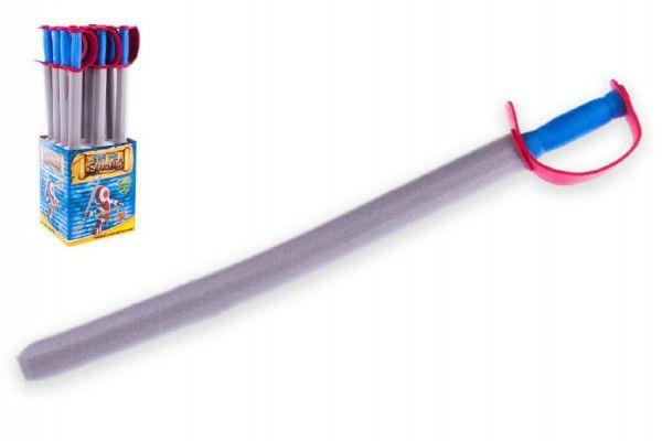 Rytířský meč pěnový 76cm 12ks v boxu