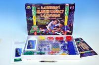 Tajemství elektroniky - Auto, loď 50 experimentů na baterie v krabici 46,5x33,5x4cm od 6 let
