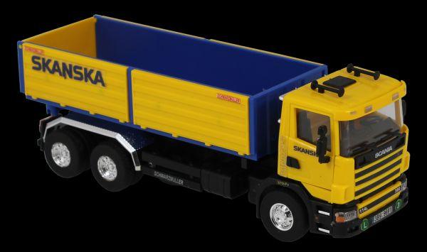 Stavebnice Monti 67 Scania Skanska 1:48 v krabici 32x20,5x7,5cm