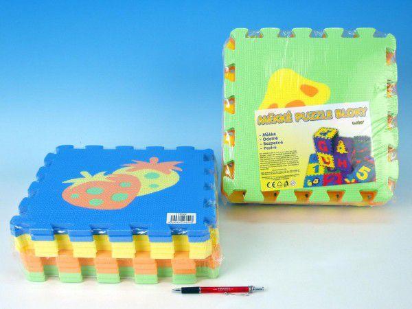 Wiky Pěnové puzzle Ovoce 30x30cm 10ks