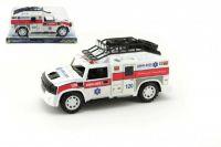 Auto Ambulance plast 25cm na setrvačník v krabičce