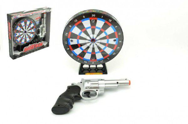 Teddies Laserová pistole s terčem22 cm