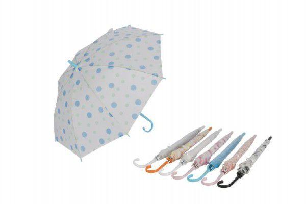 Deštník 67cm asst mix barev v sáčku